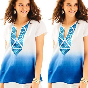Lilly Pulitzer | Breakers Row Linen Tunic